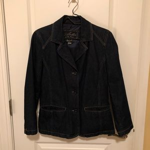 Atelier by B. Thomas Denim Lined Jean Jacket-Small